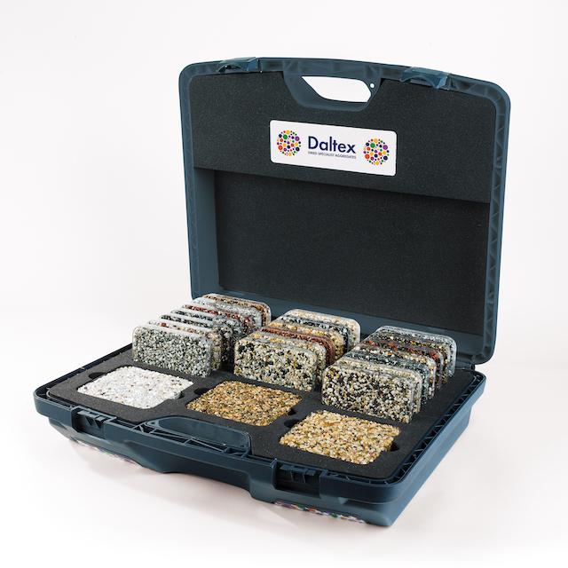 daltex bespoke sample case with 40 samples