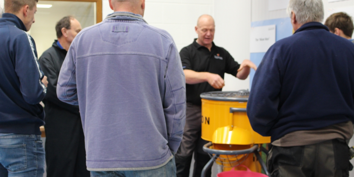 Hands-on training on our course