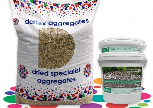 DALTEX Dried Aggregates and DALTEX UVR Resin