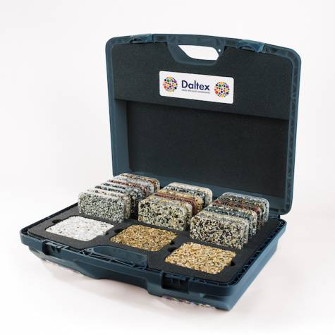 Daltex Bespoke Sample Case with 23 samples