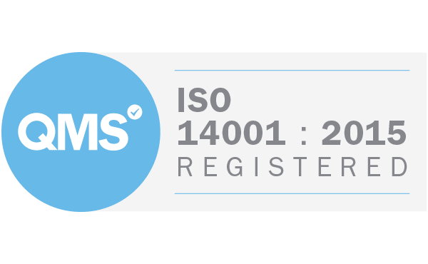 QMS ISO 14001 Registered, Certificate number 14129733